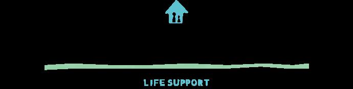 みなさまの豊かな暮らしをサポート! LIFE support