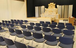 グリーン会館桜島斎場 5~90席対応のホール